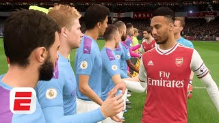 Arsenal vs. Manchester City: All is quiet at the Emirates | FIFA 20 Predictions