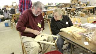 Woodcarving Enthusiasts Gather For 'roundup'