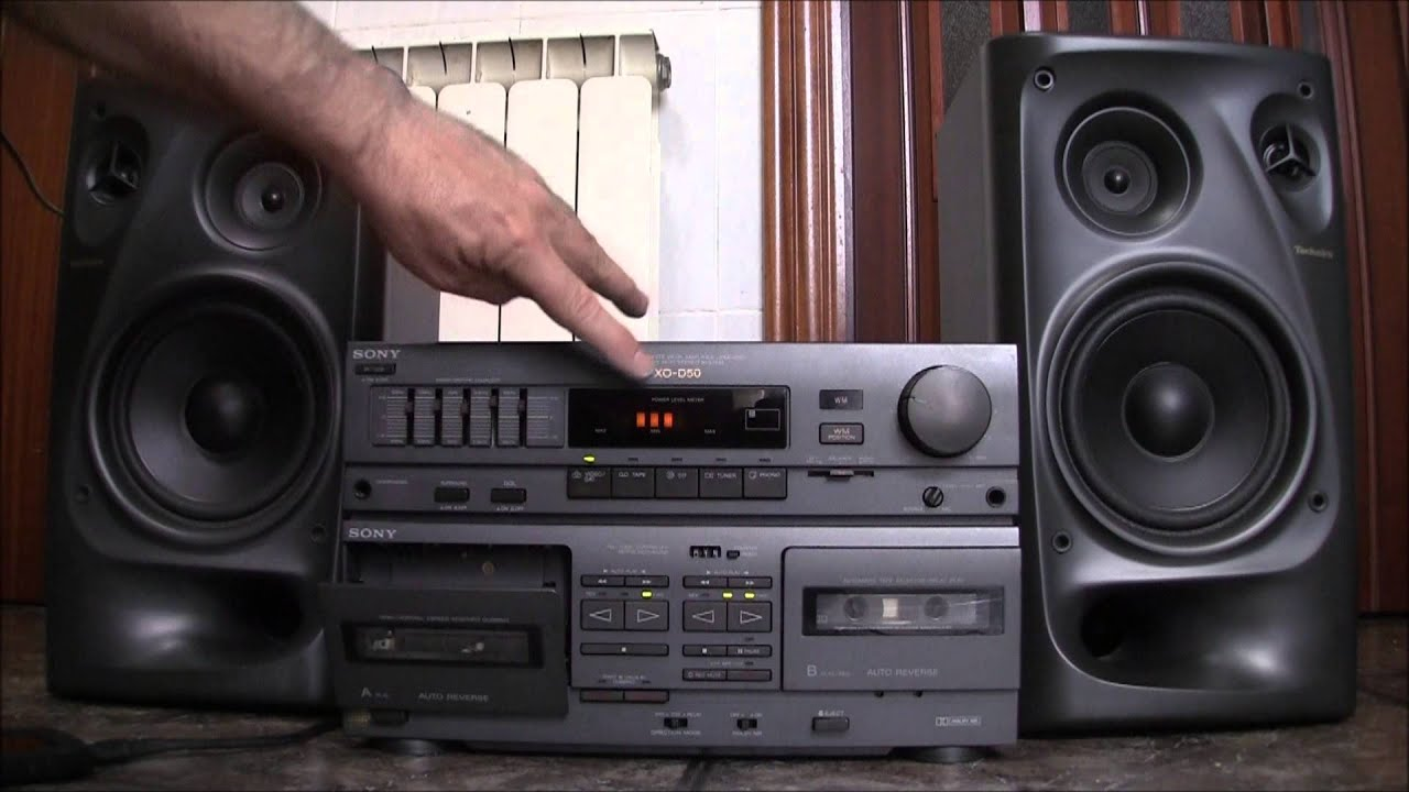 Sony Xo - D50 Hi-fi Stereo Amplificador