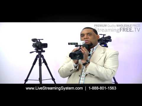 Wireless Live Streaming System - How To Broadcast Live