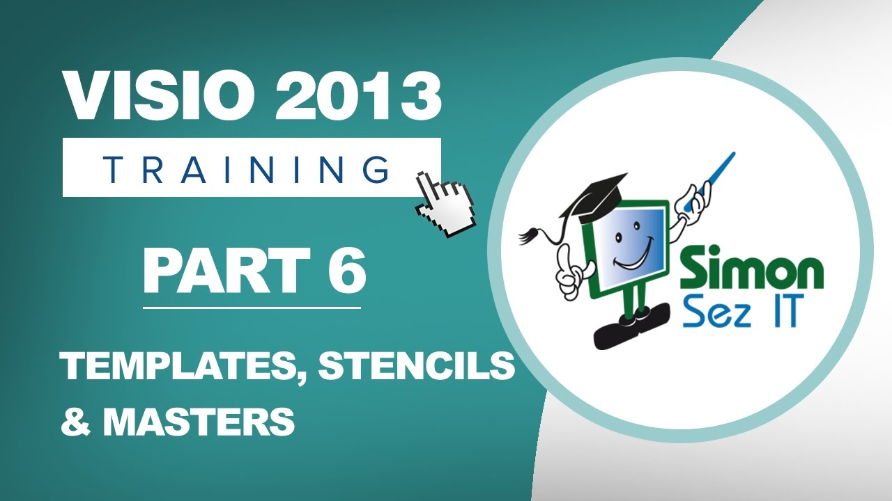 Visio 2013 for Beginners - Part 6 - How to Use Templates, Stencils ...