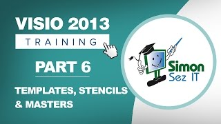 Visio 2013 for Beginners - Part 6 - How to Use Templates, Stencils and Masters in Visio 2013