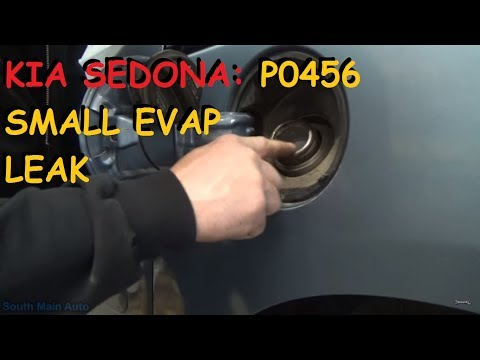 Kia Sedona: P0456 EVAP Very Small Leak