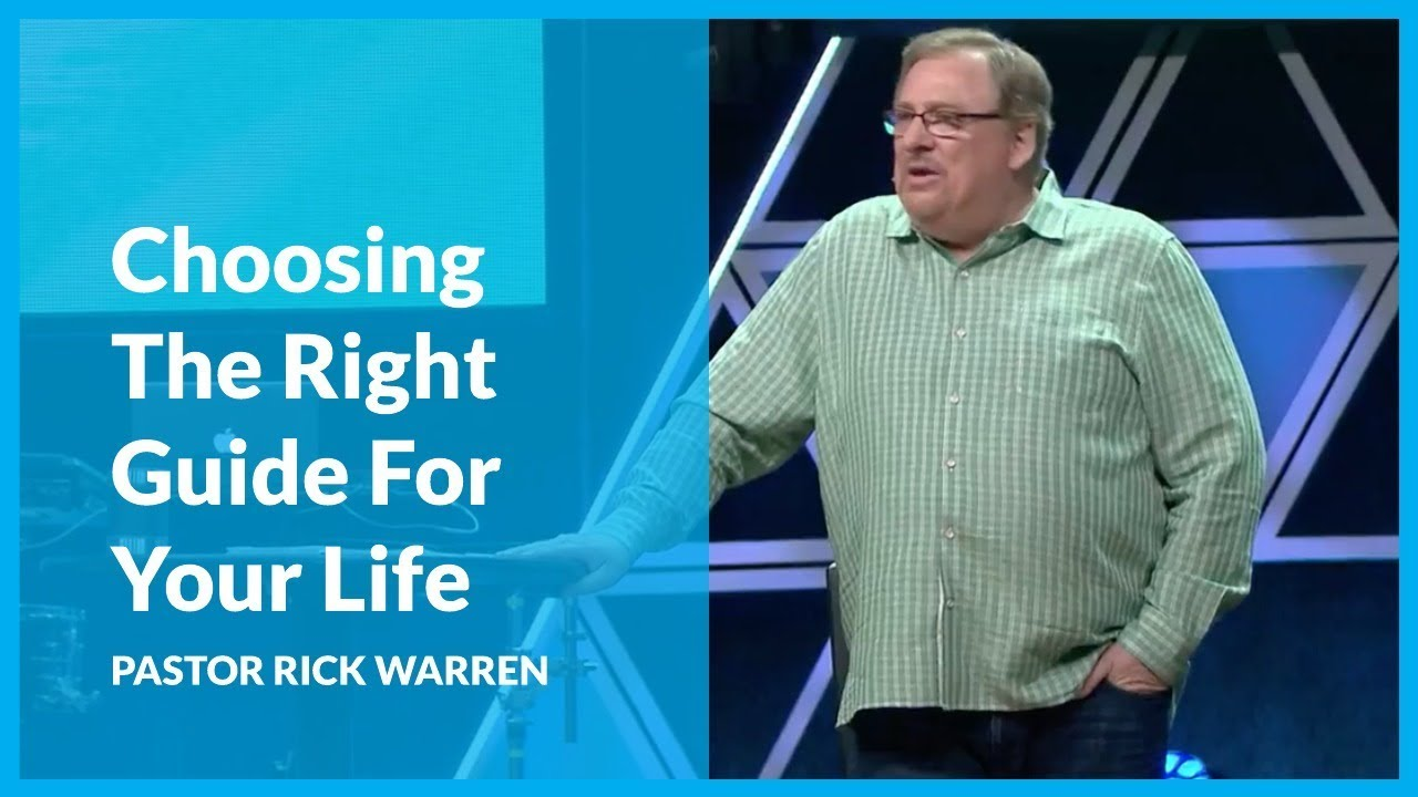 How to find the love of your life rick warren