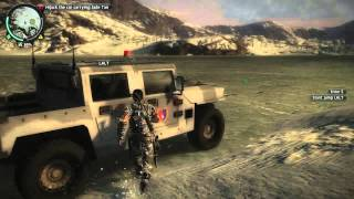 Just Cause 2 Kill the Ninjas & Hijack the Car carrying Jade Tan