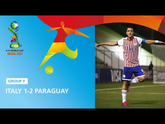 Italy v Paraguay Highlights - FIFA U17 World Cup 2019 ™