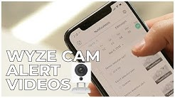 5 - HOW TO ACCESS WYZE CAM ALERT VIDEOS