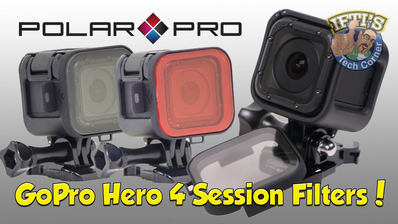 GoPro Hero 4 Session - Polariser / Red Filter by PolarPro - REVIEW - YouTube
