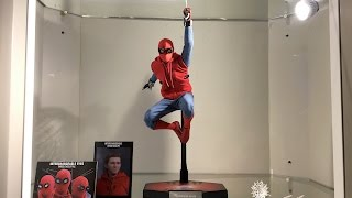 Prototype Spider-Man Homemade version by Hot Toys from Spider-Man Homecoming