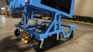 Industrial Tilt Carts by Topper Industrial, Material Handling Equipment,  30, 45, 60, 85 Degree