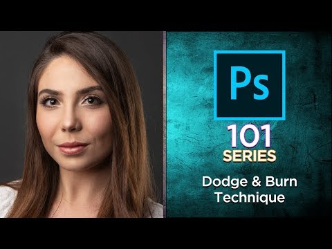 Photoshop 101 Tutorial: Dodging and Burning Technique