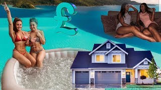 We bought a HOT TUB!/ Updated House Tour