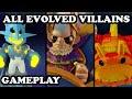Skylanders Trap Team - All Evolved Villains MOVESET & GAMEPLAY (with Light, Dark & KAOS)