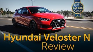 2019 Hyundai Veloster N Review Road Test смотреть