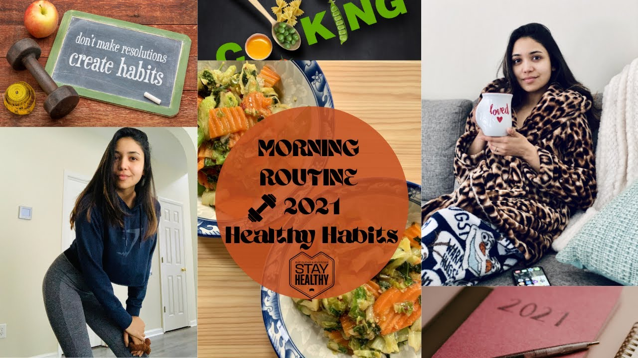 MORNING ROUTINE 2021 – Healthy Habits | The Lifestyle Vloggers – Daily VLOG