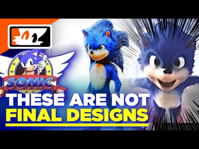 Rumor Leaked Sonic The Hedgehog Movie Character Designs Are Not