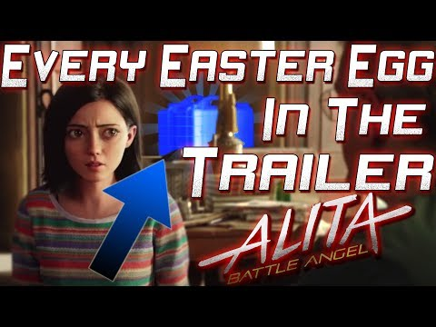 EVERY Easter Egg in the Alita: Battle Angel Trailer. EXTREME DETAIL