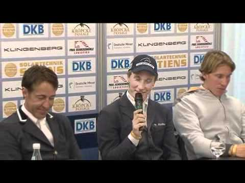 Hannover: DKB-Riders Tour - pressconference with Douglas Lin