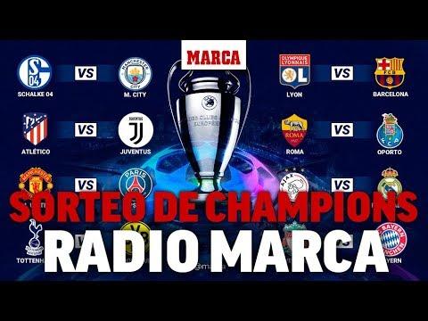 Sorteo de octavos de Champions 2018/2019: Ajax-Real Madrid, Lyon -Barcelona  y Atlético-Juventus
