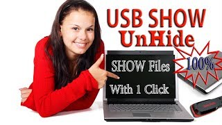 SHOW ALL HIDDEN USB DRIVE DATA WITH ONE CLICK