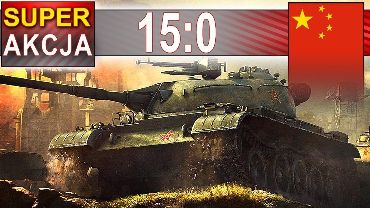 15:0 kompilacja – Super Akcja – World of Tanks