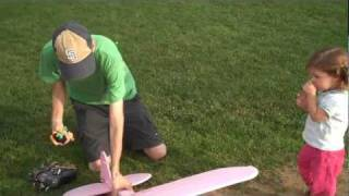Parachute Man Drop from Homemade RC Plane