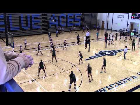 Robinson Middle School vs CMA Christa McAuliffe Academy 11/8/14 2014 Wichita part 2