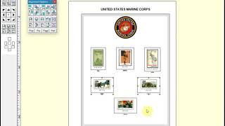 Creating Beautiful Custom Stamp Album Pages