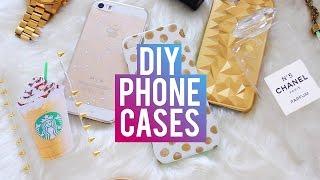 DIY Phone Cases | Chanel Perfume, Starbucks, Brandy Melville & More!