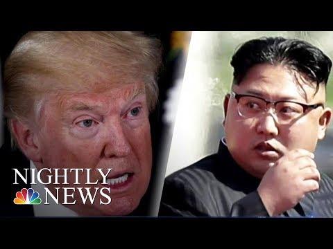 Tension Escalates Between U.S. And North Korea | NBC Nightly News