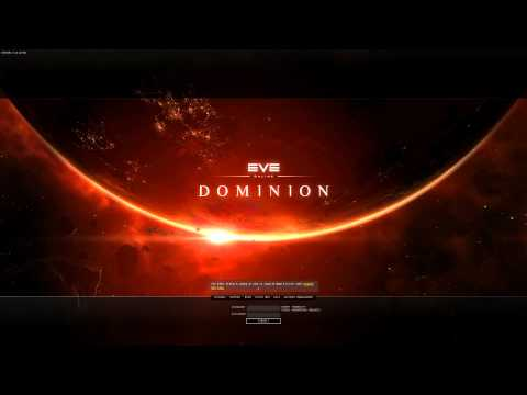 EVE Online Dominion login screen