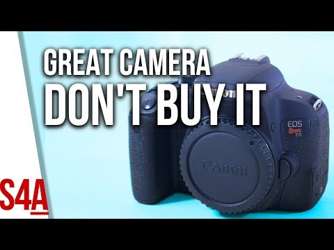 Canon T7i Review and why you shouldn't buy it