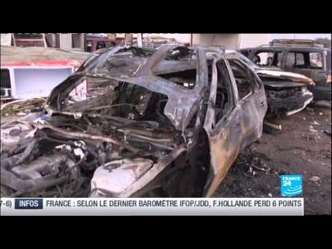 France 24 - Ident, Mise à jour météo, 'Le Journal' et 'Billet Retour a Bagdad'