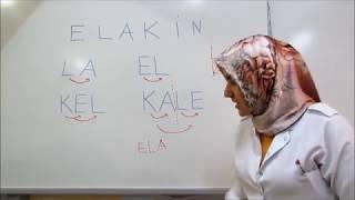 1.sınıflara harfleri öğretme,bağlama metodu ve velilere tavsiyeler-1 (e,l,a,k,i,n)