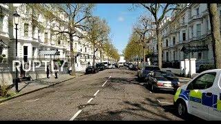LIVE: Shots Reportedly Fired Near Ukrainian Embassy In London