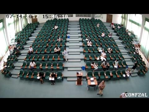 Conference Hall - MDIS Tashkent Entrance Examination (14.07.2017 Afternoon)