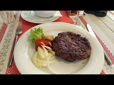 Наш обед в ресторане