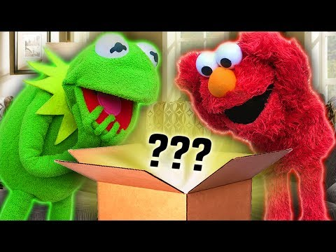 Kermit the Frog and Elmo Reveal A New Character!