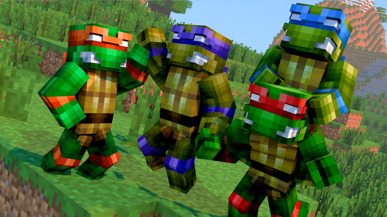 Minecraft mods morph hide and seek tartarugas ninjas mutant minecraft mods morph hide and seek tartarugas ninjas mutant ninja turtles youtube thecheapjerseys Image collections