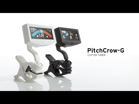 The new PitchCrow Clip on tuner from Korg