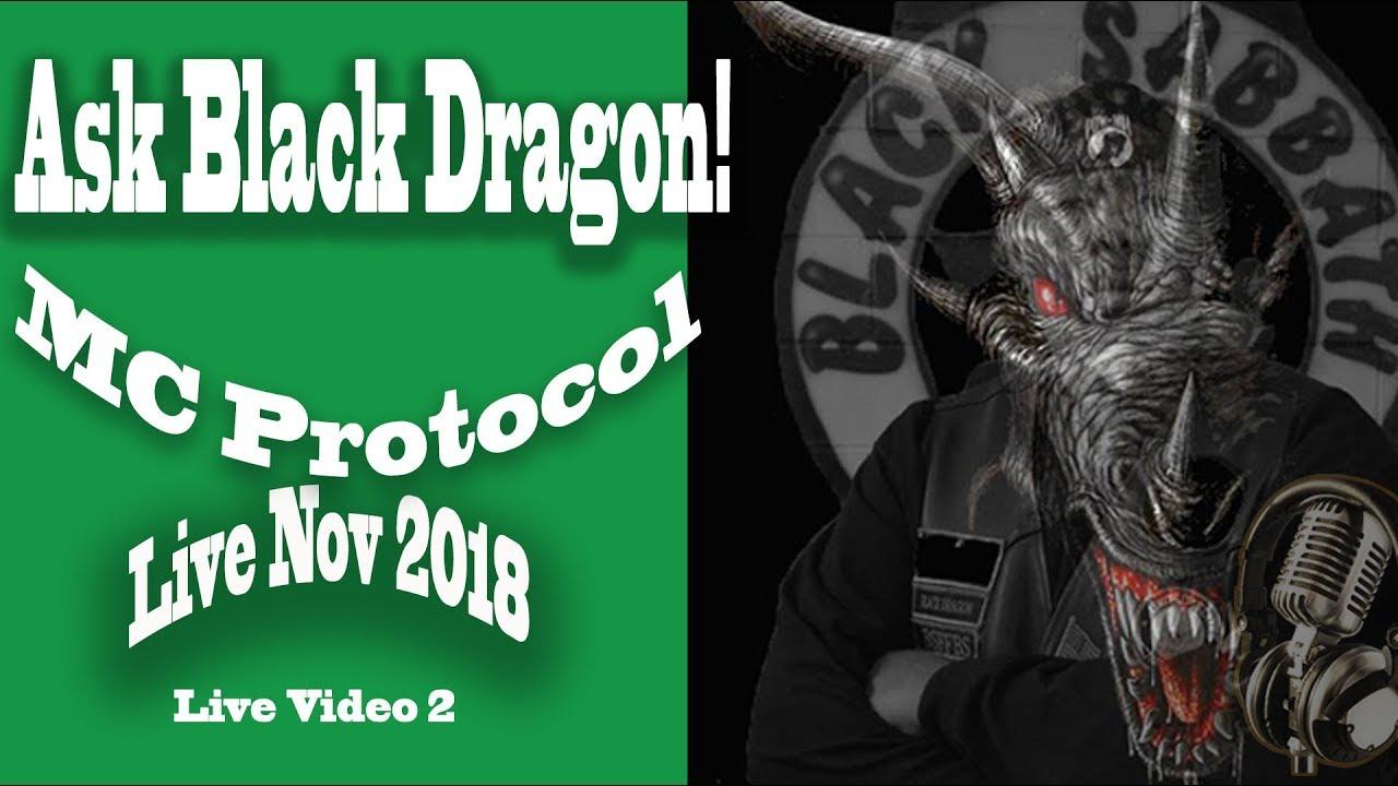 MC Protocol - Ask Black Dragon Live (Vol2) 2018