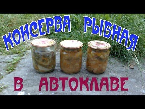 Как сделать консервы из рыбы в томате 838