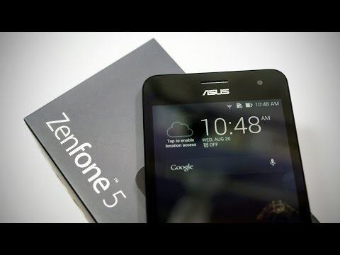 Asus Zenfone 5 - Unboxing & Hands On