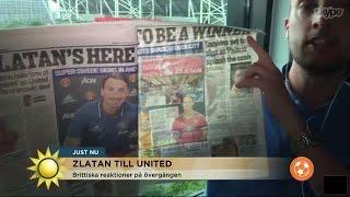 Fotbollskanalen i Manchester - så skriver tidningarna om Zlatan - TV4 Sport