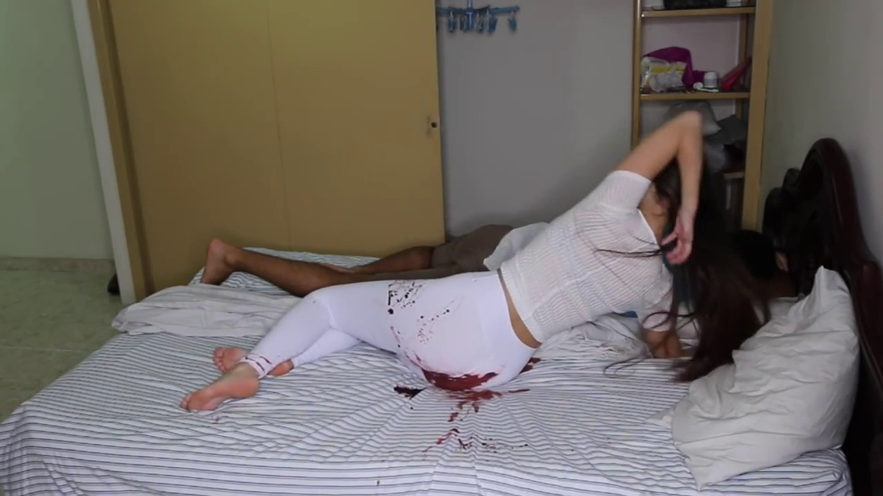 Hot Girl First Night Romance  First Night With Boy