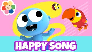 🎵The Happy Song + Laughing Song for Babies | Nursery Rhymes & Baby Songs Compilation | BabyFirst🎵