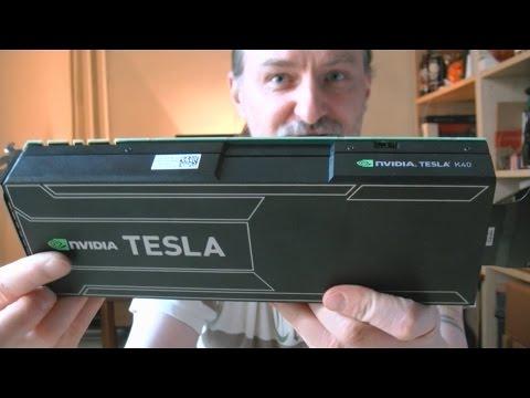 Quick Unboxing - Nvidia TESLA K40 12GB Akcelerator Graficzny | 12.2015 - McSzakalTV