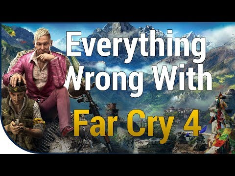 GAME SINS | Everything Wrong With Far Cry 4 |
