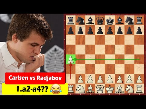 No Way! Carlsen Started The Game With 1.a4!
