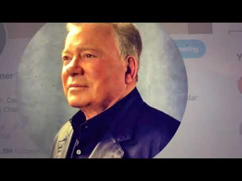 William Shatner Captain Kirk Of Star Trek Turns 90 Today, March 22 2021 - Live Long And Prosper
